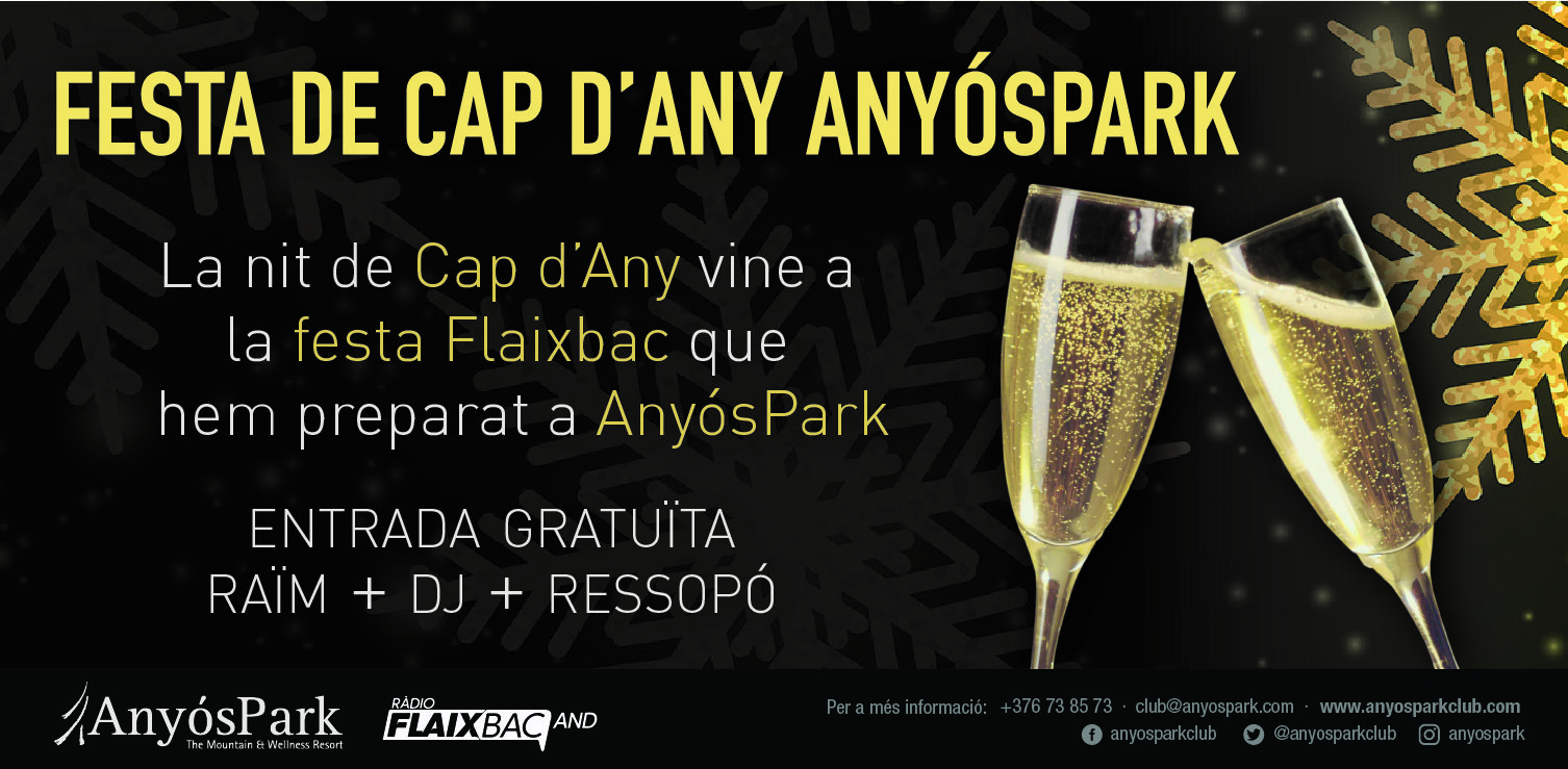End of the year at AnyósPark